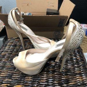 Steve Madden embellished high platform heels